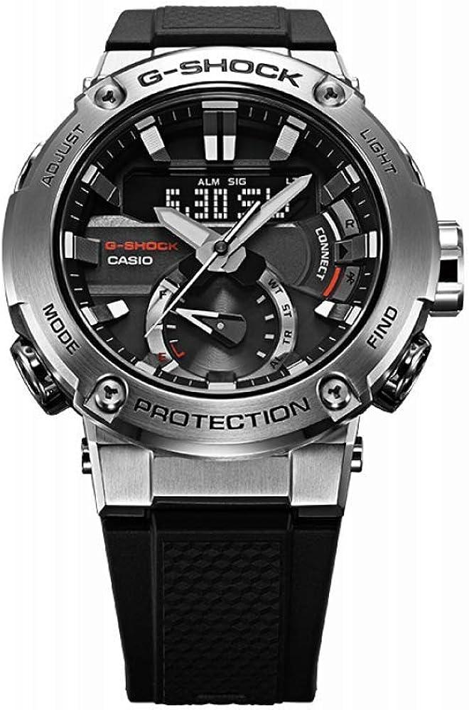 Reloj Casio GST-B200-1AER Negro Acero 316 L Hombre