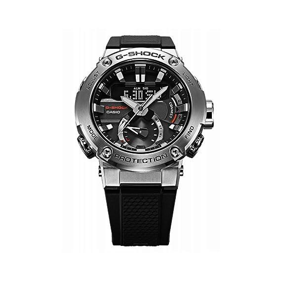 Reloj Casio GST-B200-1AER Negro Acero 316 L Hombre: Amazon ...