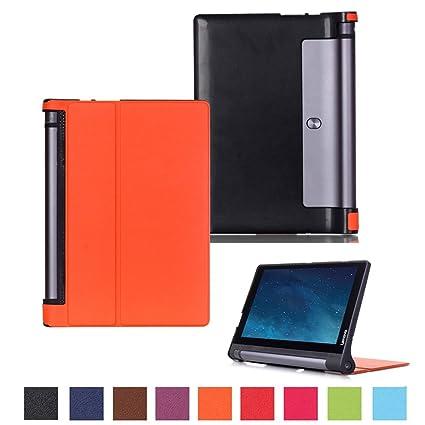 Carcasa para Lenovo Yoga Tab 2-1050 - Funda de cuero ...