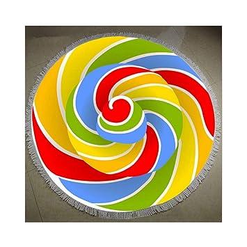 JUNYZSTJ Toalla De Baño De Dibujos Animados/Toalla De Playa/Toalla De Baño para Adultos Tamaño 150 * 150 Cm, B: Amazon.es: Hogar