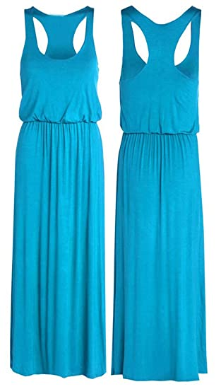 3543e304b76f Image Unavailable. Image not available for. Color: Puffball Toga Recer Back  Sleeveless Long Balloon Maxi ...