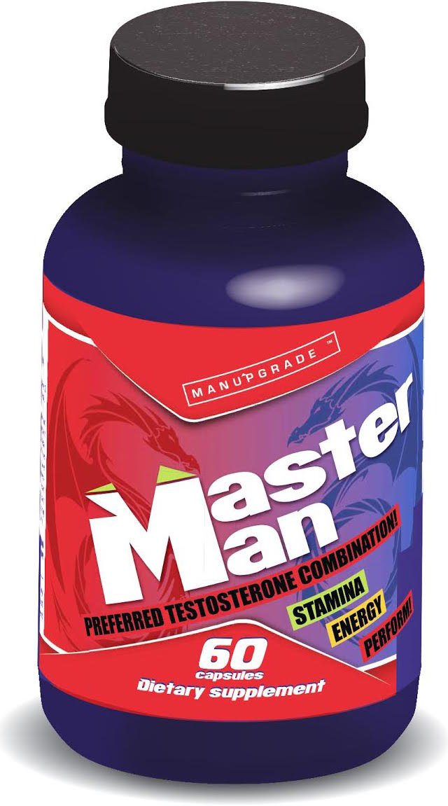 MasterManXL ☆ #1 Powerful Male Enhancement on the Market! ☆ WORLD BESTSELLER ☆ Clinically Proven Formula Quick Effect Guaranteed 100% Money Back ☆ by USA Brand Manupgrade® - 60 Capsules/1 Month Supply