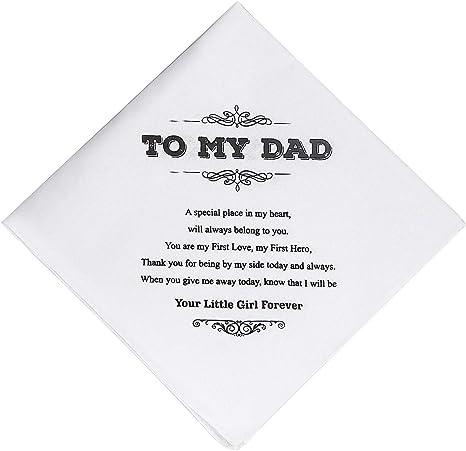 C.P.M Fazzoletto To My Daughter regalo di nozze