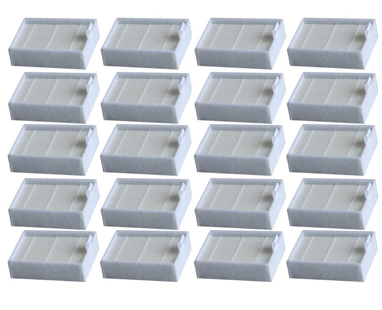 YanBan 20PZS Filtro de reemplazo de Hepa para iLife V3, V3S, V3S ...