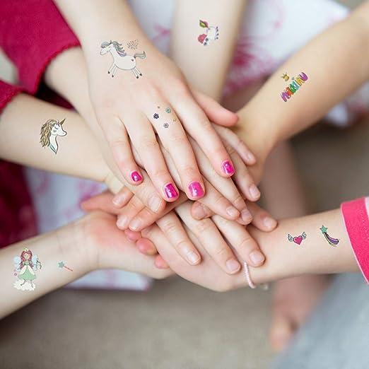 Ekkong Unicorn Stickers Temporary Tattoos Unicorn Gifts For Kids