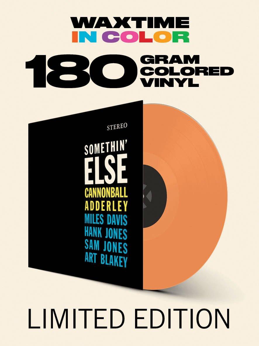Vinilo : Cannonball Adderley - Somethin Else (180 Gram Vinyl, Colored Vinyl, Orange, Limited Edition, Bonus Track)