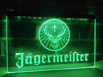alemán licor y bebidas espirituosas Neon LED caracteres Publicidad Neon Cartel verde