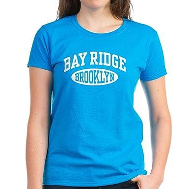 29f94d031 Amazon.com: CafePress Bay Ridge Brooklyn - Womens Cotton T-Shirt ...