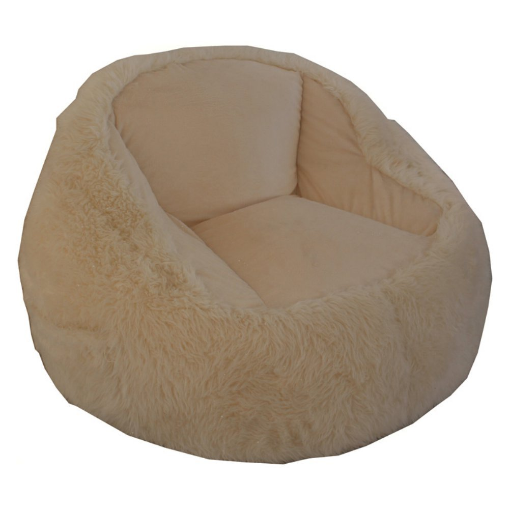 Ace Casual Furniture Fur Tablet Bean Bag Pocket Chair by Ace Bayou