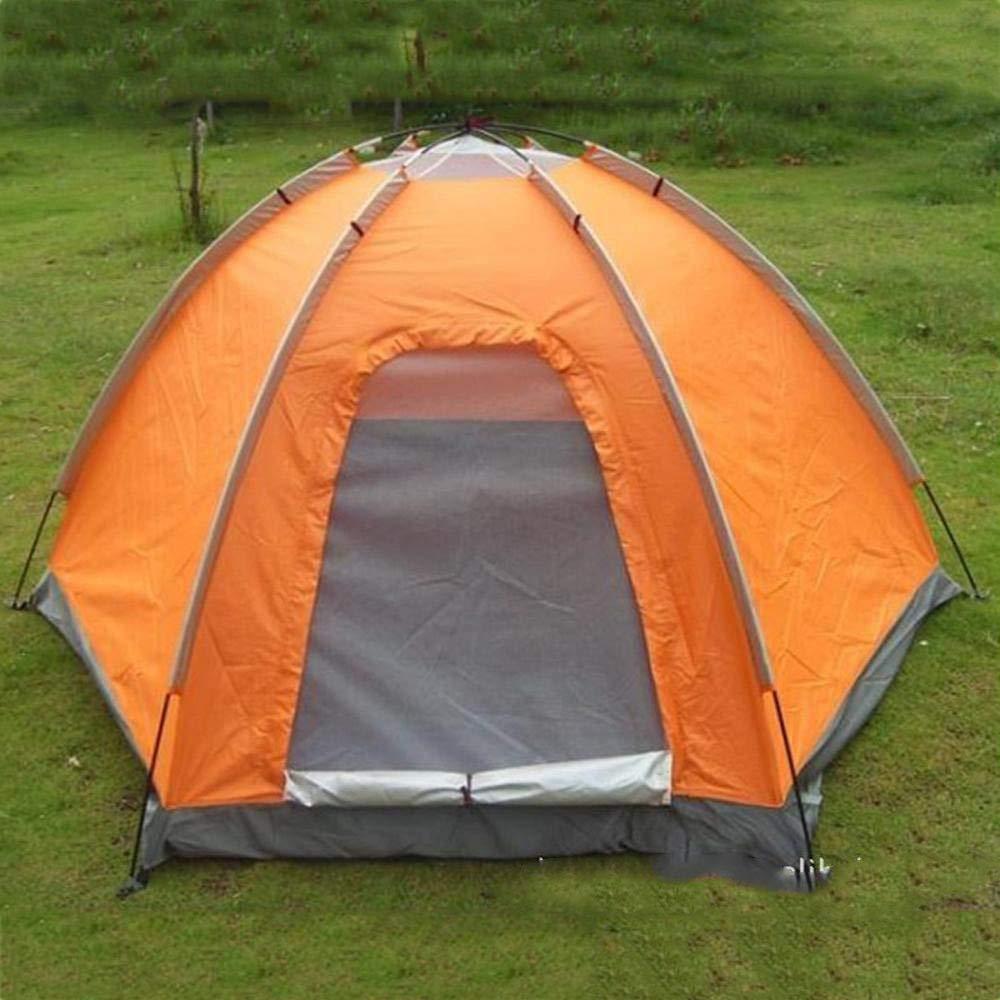 Lxj Outdoor-Zelt Feld Camping Zelt im Freien Multiplayer-eingeschossige Anti-Regenschutz wasserdicht Multiplayer-eingeschossige Freien Zelt Outdoor-Reisen Zelt 210  2 40  h130cm 3c707d