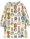 Kaily Mädchen Baumwolle Langarm T-shirt Kleid