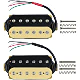 FLEOR Zebra Electric Guitar Pickup Humbucker Double Coil Guitar Bridge 52mm & Neck 50mm Pickups