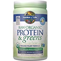 Garden of Life Raw Protein & Greens Vanilla, Vegan Protein Powder for Women and Men, Juiced Greens and 20g Raw Organic…