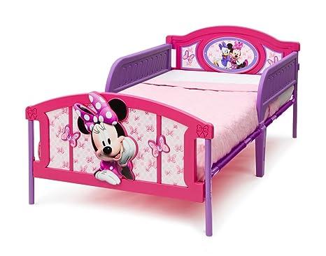 Disney Minnie Maus 3D Bett 200 x 100 cm Kunststoff u Metall ...