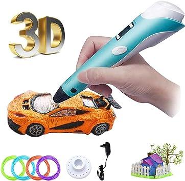 Bolígrafo 3D para niños con impresión 3D de 1,75 mm PLA con ...