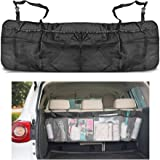 Togather® Organizzatore di auto rimovibile tronco organizzatore Backseat Storage multi-tasca borsa Seggiolino pieghevole maglia titolare Pouch - Nero
