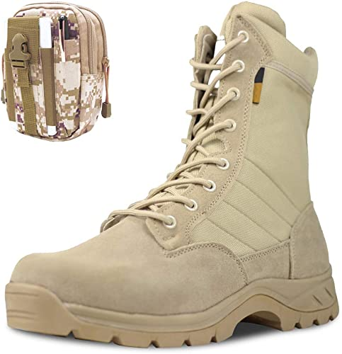 PANY Men's Military Boots Army Combat