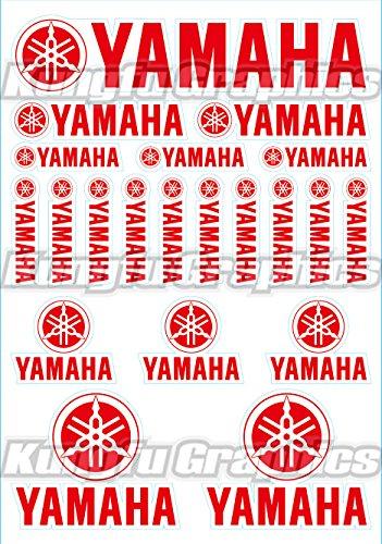 Yamaha Racing Stickers - 9