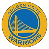 Fanmats 18835 NBA Golden State Warriors Roundel Mat