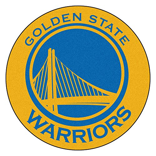 Fanmats 18835 NBA Golden State Warriors Roundel Mat by Fanmats