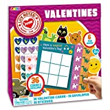 Toys : JOYIN 36 PC Valentines Day Gift Cards of Animal & Character Tic Tac Toe for Valentine's Classroom Exchange Prizes, Valentine Party Favor Toys