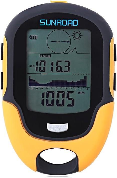 Portable Outdoor Waterproof LCD Digital Compass Altimeter Barometer Hygrometer