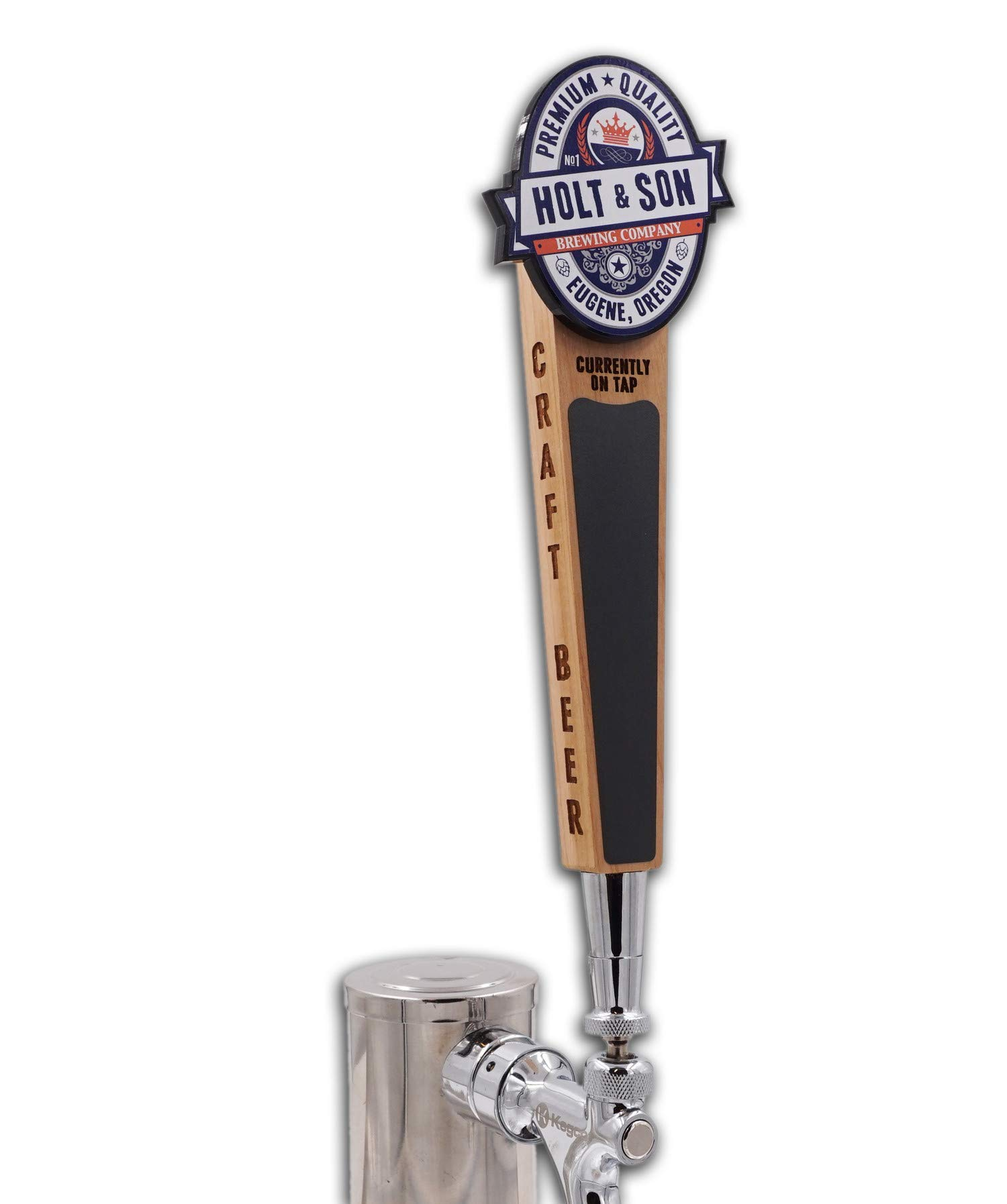 Custom Personalized Beer Tap Handle-Classic Logo Edition