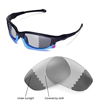 0830d3ffd9348 Walleva Replacement Lenses for Oakley Split Jacket Sunglasses - Multiple  Options (Photochromic Transition - Polarized)  Amazon.ca  Sports   Outdoors