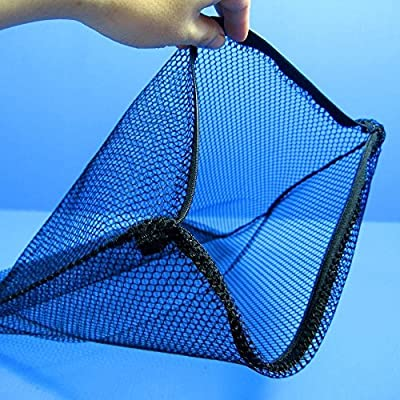 "Aquarium Equip 2pcs Filter Zip Net Bag16.5""x12.6""- Pond Bio Ball Breeder MEDIA Fish Tank"