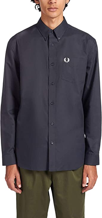 Fred Perry Mens Oxford Shirt Regular Fit