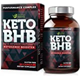 Vitamin Bounty Keto BHB Pills - Beta-Hydroxybutyrate Exogenous Ketone Salts - 30 Servings
