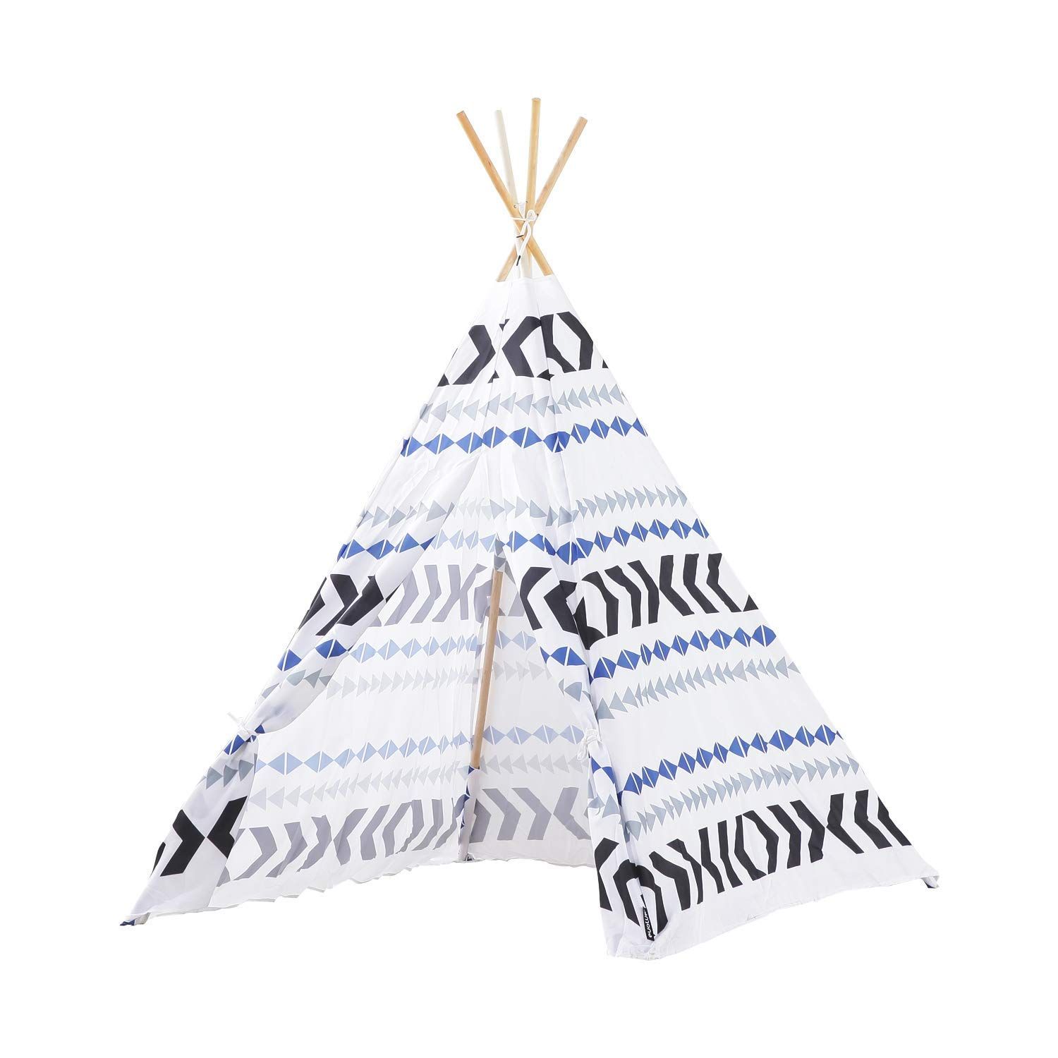 MallBest Kids Play Indoor Tent(テント)s Indian Teepee Tent(テント) B07R93XK2C MallBest Children Playhouse Canvas Portable for Indoor and Outdoor (Blue) [並行輸入品] B07R93XK2C, 激安コスメビレッジ:a502ac11 --- number-directory.top