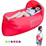 TZ Air sofa, waterproof inflatable sofa, portable inflatable sofa/bed/outdoor hiking camping leisure beach and garden leisure sleeping bag camping umbrella