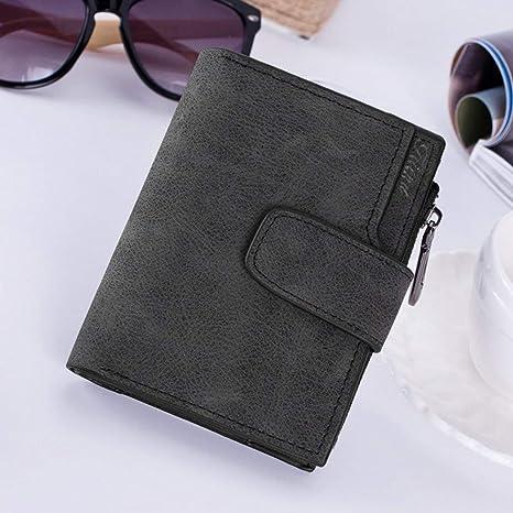 Amazon.com: Cartera con cremallera de diseño vintage para ...