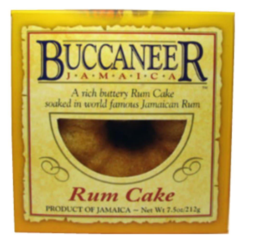 Buccaneer Jamaica Rum Cake -7.5oz: Amazon.com: Grocery & Gourmet Food