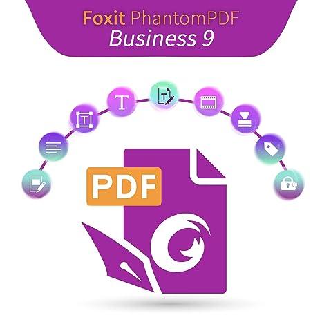 Amazon co jp: Foxit PhantomPDF 9 x Business|日本語版