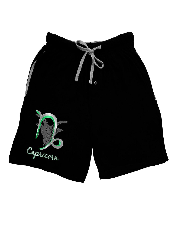 TooLoud Capricorn Symbol Adult Lounge Shorts