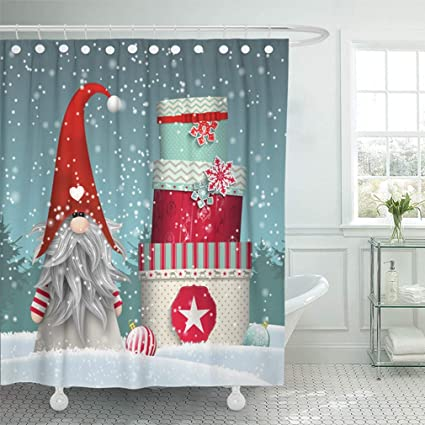 Emvency Bathroom 72quotx78quot Shower Curtain Set Nisser In Norway And Denmark Tomtar Sweden