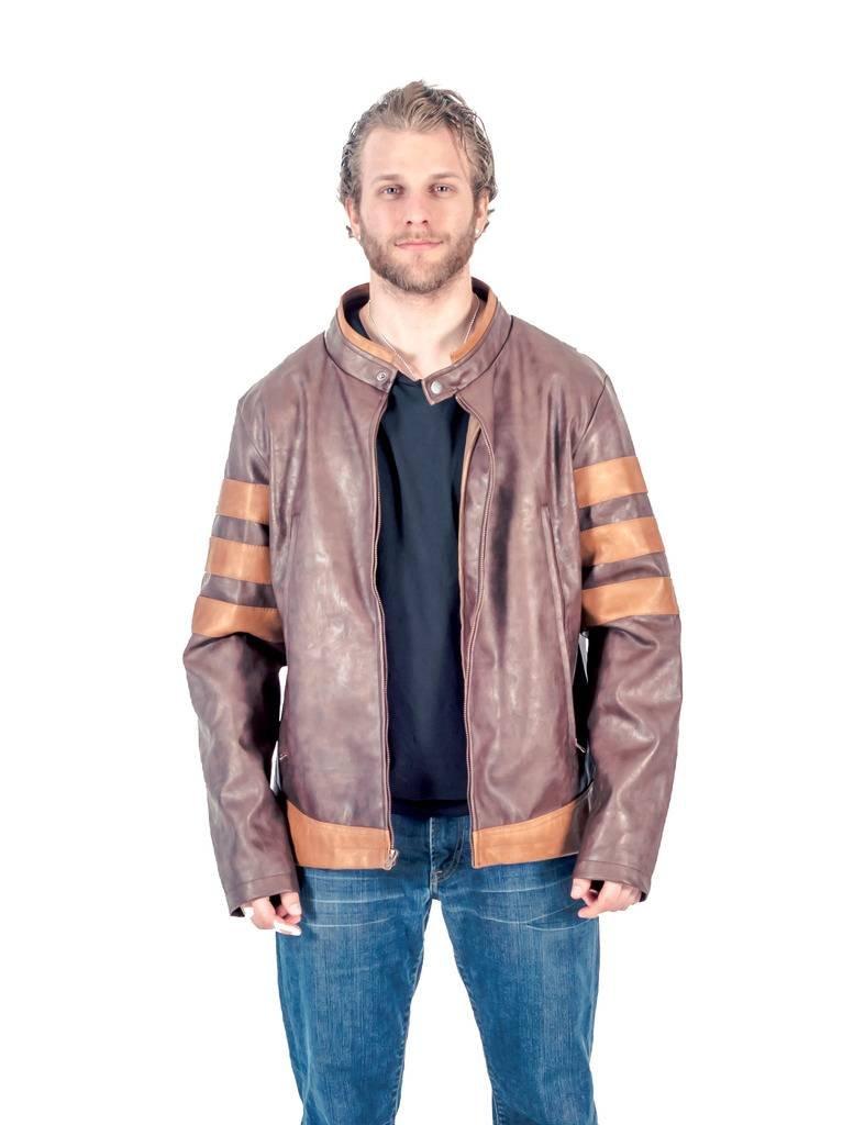 Replica Wolverine Jacket (Men's Medium) Brown by C-Life Group