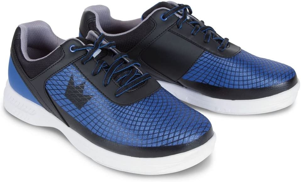 Brunswick Men 's Frenzyボーリング靴、ロイヤル/ブラック、サイズ7.5