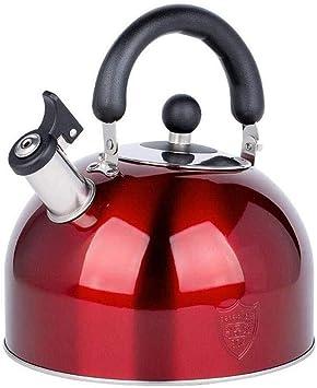 Cuisini/ère /à gaz de la bouilloire 4L dacier inoxydable 304 grande capacit/é de bouilloire de m/énage de sifflet Couleur : A