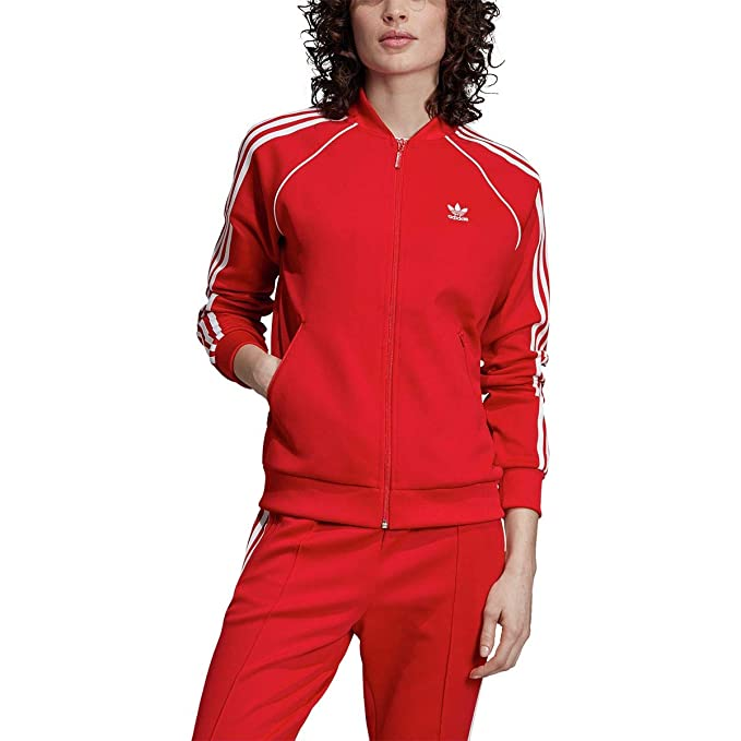 Amazon.com: adidas Originals Womens Superstar Track Top ...