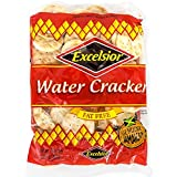 Excelsior Water Crackers, 10.57oz (Pack of 10) Fat Free, Genuine Jamaican Crackers, Breakfast Cereal and Healthy Snack For Sale