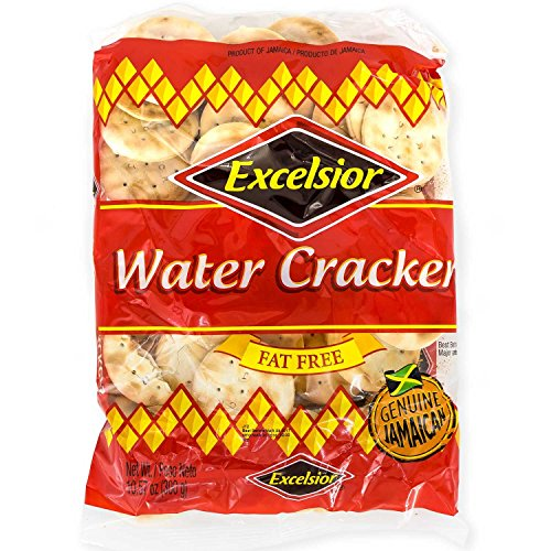 - Excelsior Water Crackers, 10.57oz (Pack of 10) Fat Free, Genuine Jamaican Crackers, Breakfast Cereal and Healthy Snack