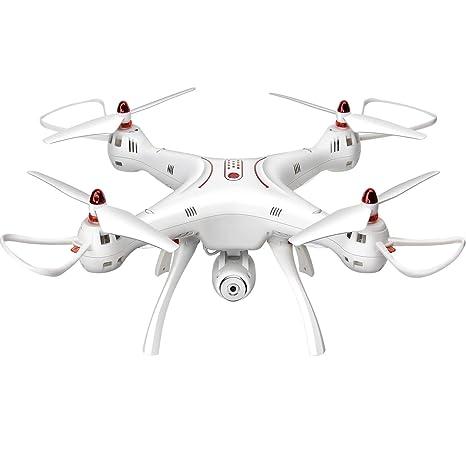 AIR BASE Drone Teledirigido de 4 Canales 2.4G Quadcopter con La ...