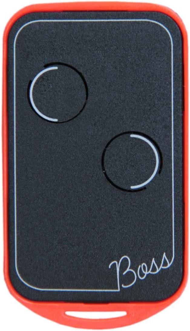 Boss - QC2 - Mando a distancia universal, con tecnología de cuarzo, 30,875Mhz, en 5colores, control remoto con 2 canales disponibles, compatible con BFT TO2, Nice Serie K y Bio, Benincà con botones a
