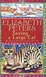 Front cover for the book Seeing a Large Cat by Elizabeth Peters
