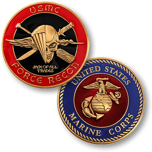 USMC Force - Marine Challenge Coin Set