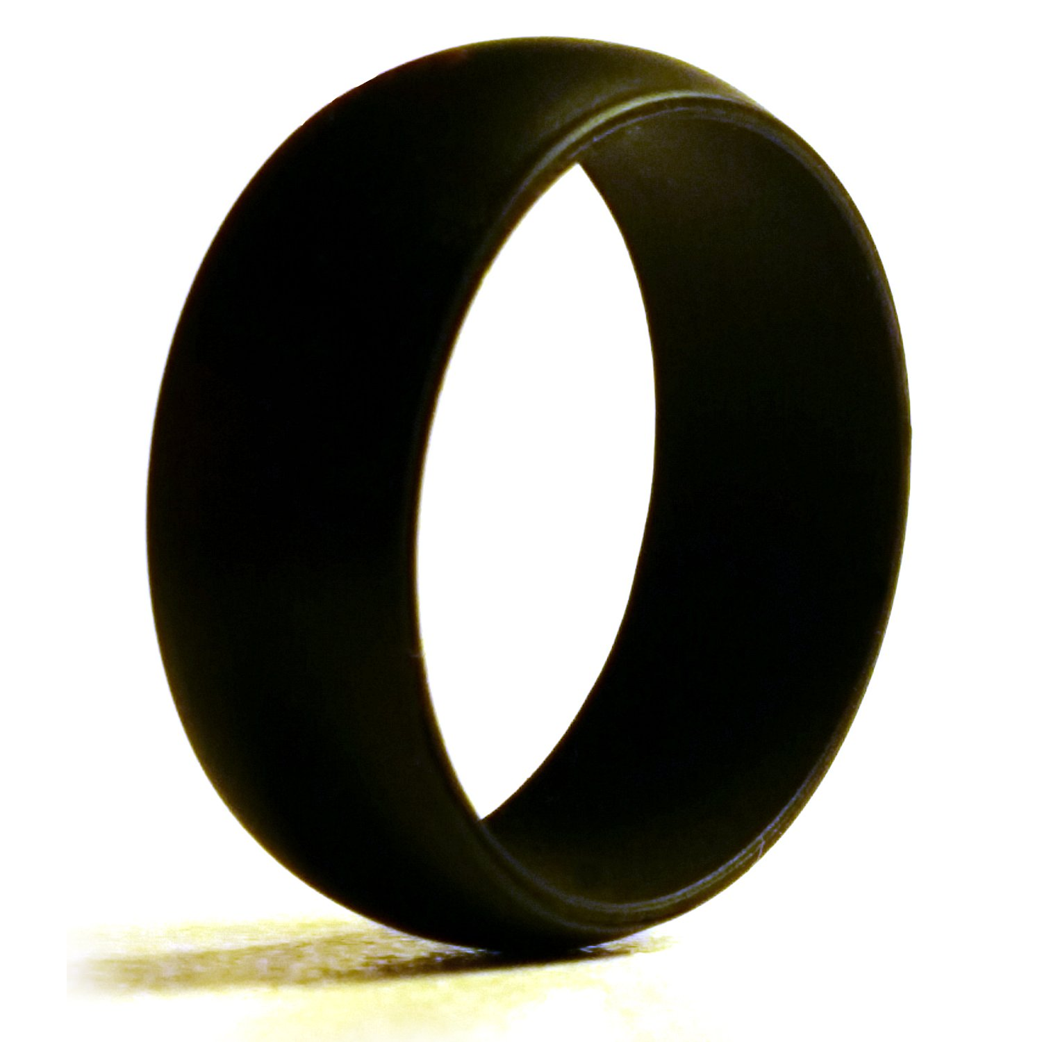 4EVA Men's Silicone Wedding Ring - For the Active Lifestyle of Athletes, Campers, those who work with Heavy Equipment and Machinery and Outdoor Adventurers who want to show their Love is For Ever!