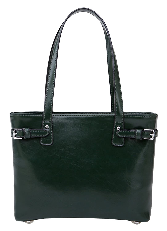 Hellofashion Women's Zipper Leather Tote Back Pack